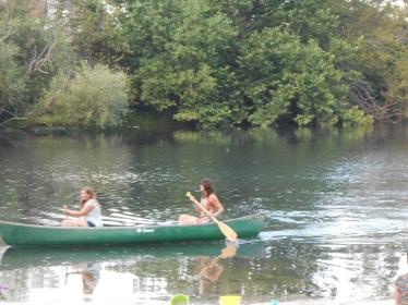 Canoeing on White's Lake