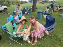 Our Dear Guests at Bluegrass, under the Willows & by the Lake