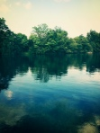 The Lake is Clear & Calm