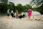 Kids + Sand = Fun